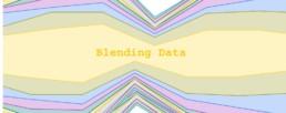 Blending data in google data studio