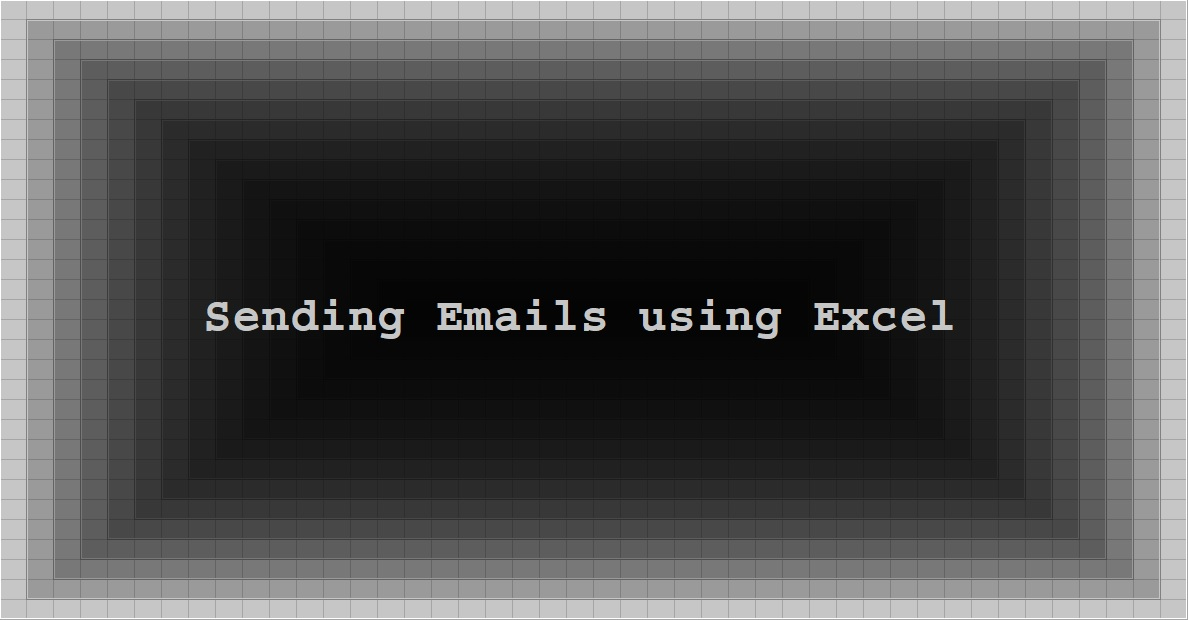 Sending Emails using Excel