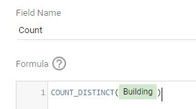 Count distinct metric in google data studio