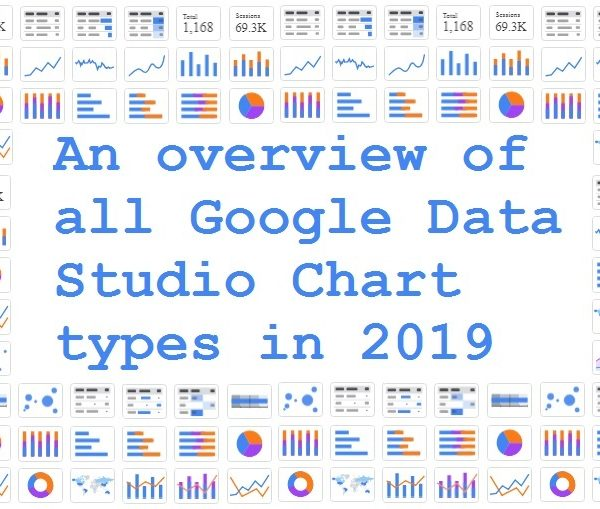 An overview of all Google Data Studio Chart types in 2019
