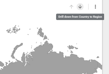 Drilling down from country to region in data studio geo map