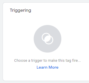 Google Tag Manager create a trigger