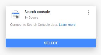 Adding Search console