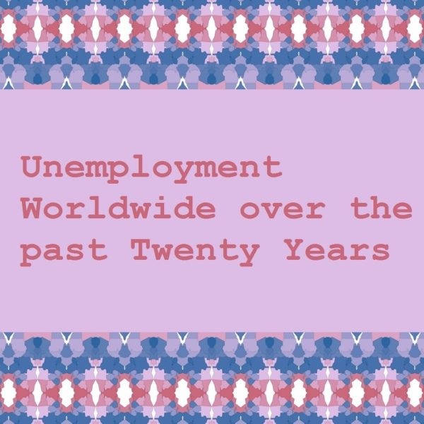 Unemployment Worldwide over the past Twenty Years
