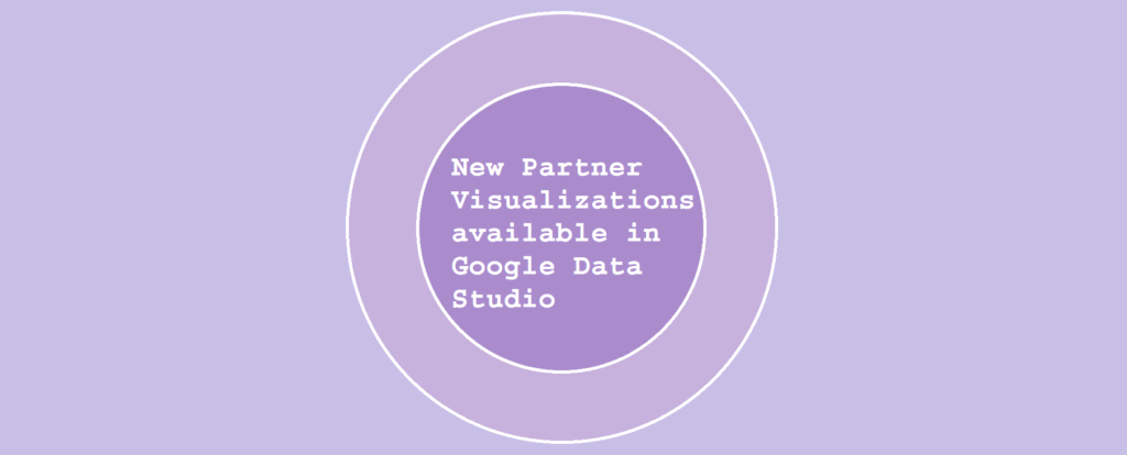 New Partner Visualizations available in Google Data Studio