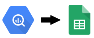 Taking data from BigQuery and putting it into google sheets using SQL