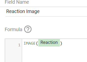 IMAGE for making a meme report in google data studio