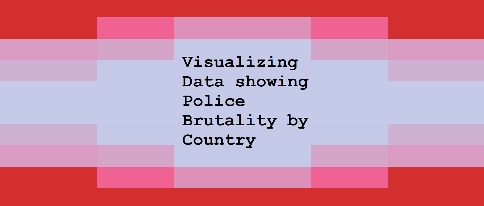 Visualizing Data showing Police Brutality by Country