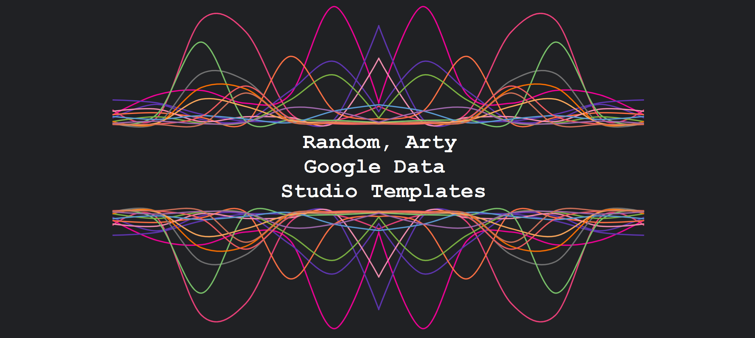 GDS Random, Arty Google Data Studio Templates