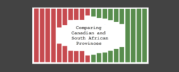 Comparing Canadian and South African Provinces