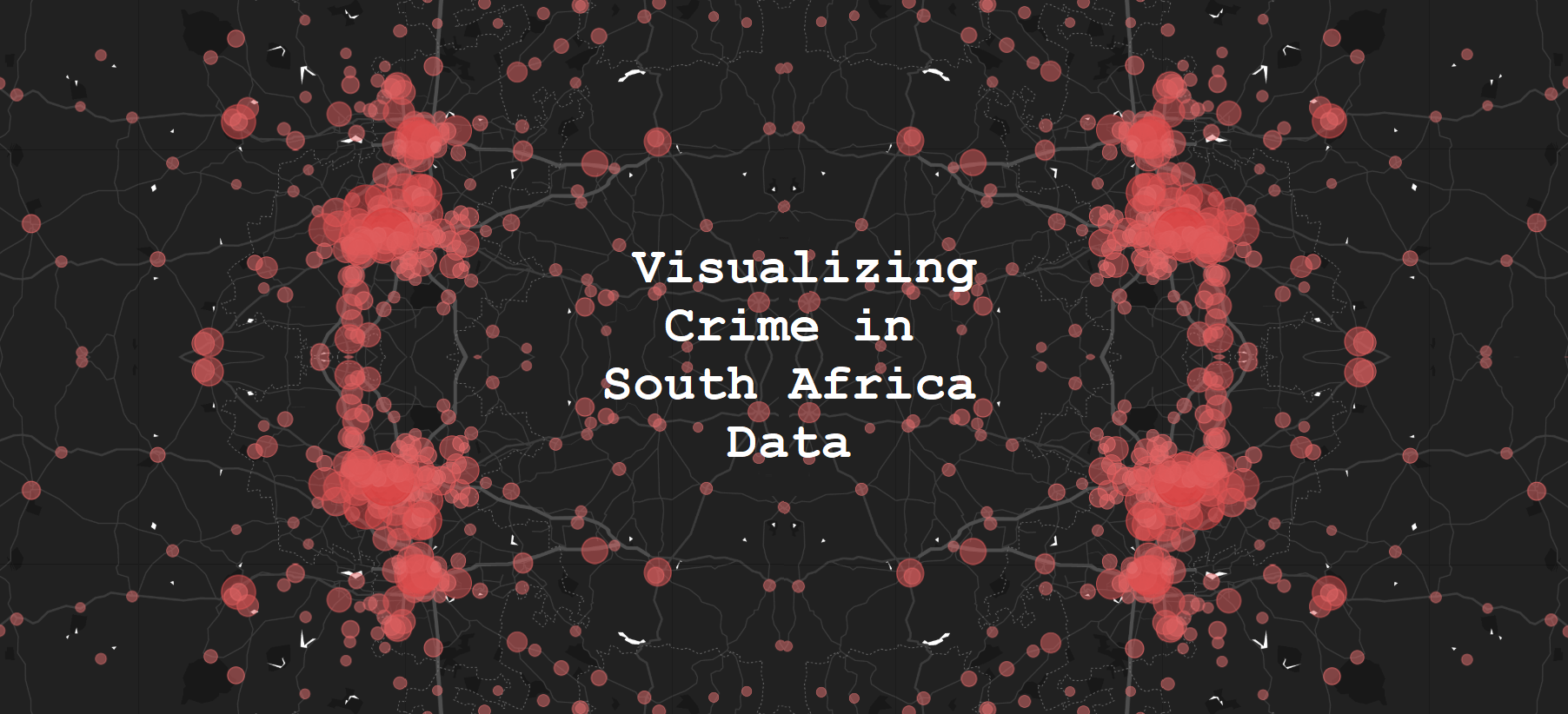 Visualizing Crime in South Africa Data