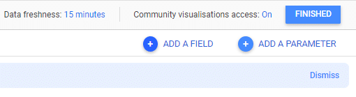 add a field in google data studio